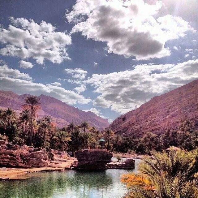 Wadi bani Khalid -Oman