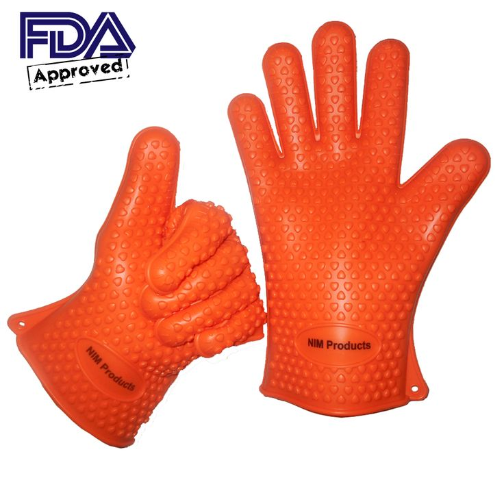 BBQ Cooking Silicone Gloves! http://www.amazon.com/Barbeques-Outdoor-Grills-Heat-Occasion-FDA-Potholders-Withstand-Warranty-Satisfaction/dp/B00ML6WMTI