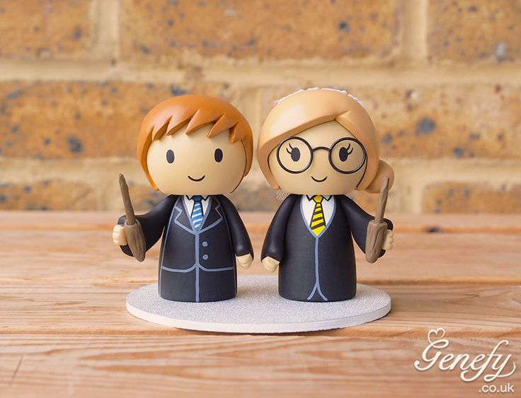 1000 Images About Cute Harry Potter Inspired Wedding Cake Topper By Genefy Playground On