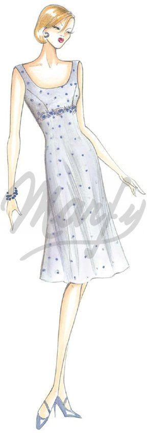 Sewing pattern Dress 2401