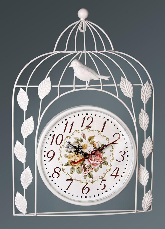 Kuşlu Metal Yeni Duvar Saati Modeli  Ürün Bilgisi ;  Ürün maddesi : Metal Kalem pil ile çalışmakta Sessiz akar saniye Şık ve dekoratif bir görünüm sağlar Sevdiklerinize hediye olarak gönderebilirsiniz Ürün Ölçüleri ;  Boyu : 47,5 cm Eni : 33 cm Saat gövde çapı : 23 cm