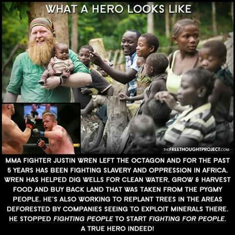 What does a hero look like?  Look in the mirror!  Thanks to all of you that make a difference in your community!