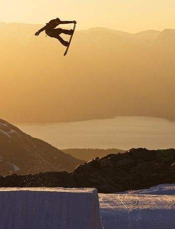 Sunsets and Snowboarding ☀️✌️
