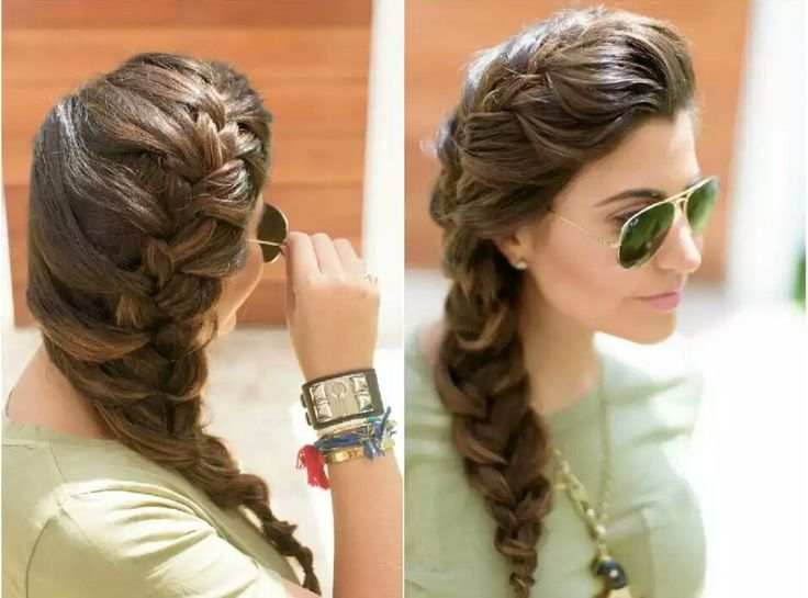177 best images about hairstyle peinados on pinterest - Trenzas de lado ...