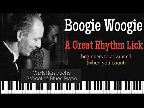 (2170) Boogie Piano Lesson. A Great Rhythm Trick/Lick used by  Ammons, Yancey, Johnson  etc... - YouTube