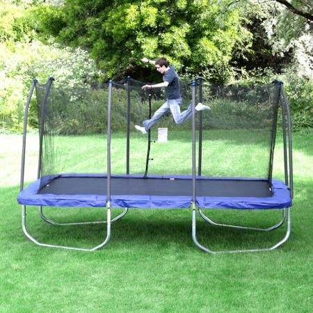 Skywalker Trampolines 15' x 9' Rectangle Trampoline and Enclosure - Blue $699 free pickup - Out of Stock