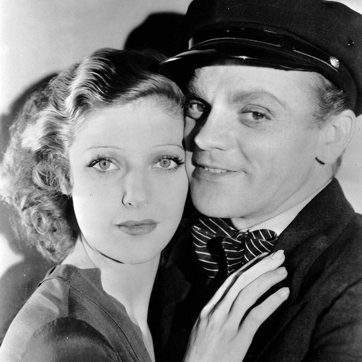 """Loretta Young and James Cgney in """"Taxi"""" - 1932"""