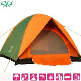High Quality double layer rainproof outdoor camping tent for fishing and  hunting.