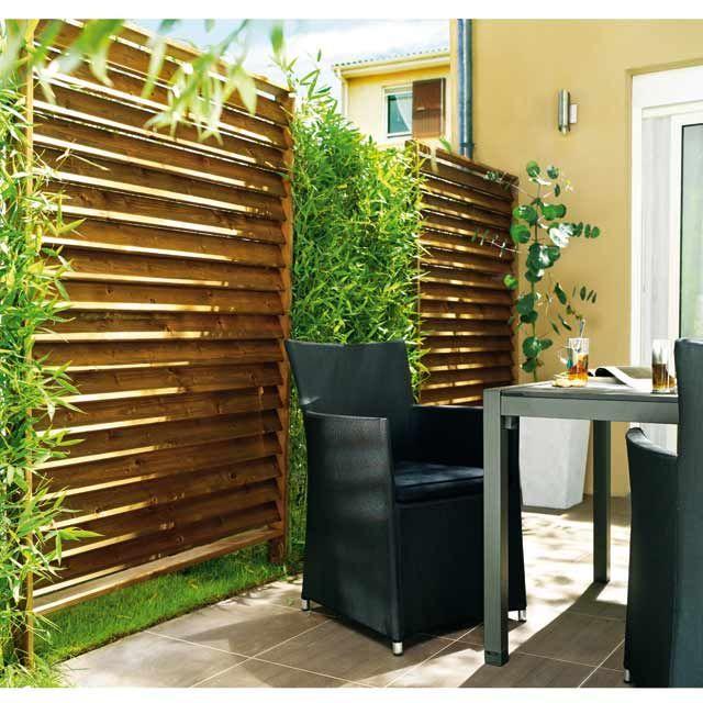 Panneau Shadow Amazone L 120 X H 180 Cm Amenagement Jardin Recup Amenagement Jardin Persienne Bois