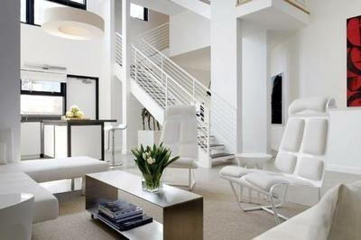 decoracion de salas blancas modernas (2)