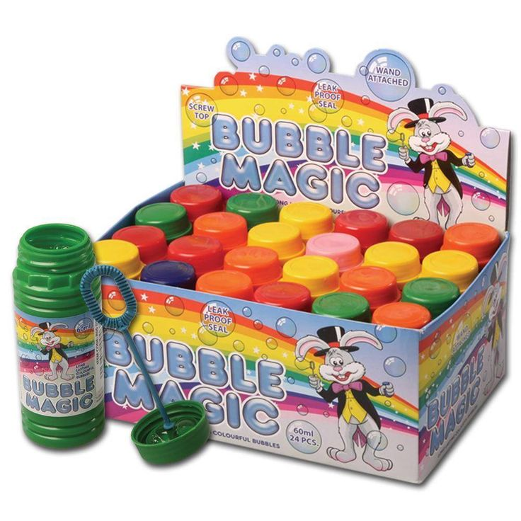 Bubble Magic Kids Bubbles Party Bag Fillers Childrens Party Bubbles Blow Bubbles