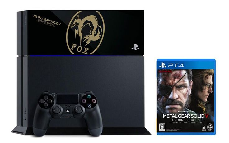 Limited edition Metal Gear Solid V: Ground Zeroes PS4 Bundle