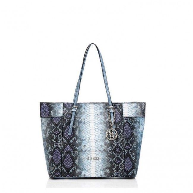 Borsa Guess shopping media animalier Delaney BP4535230 - Scalia Group  #guess #fashion #glamour #wallets #bags #handbags #women