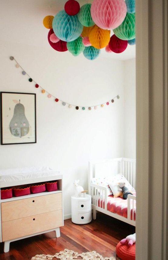 Wonderful Los Niños Las Adoran... Paper BallsToddler BedToddler RoomsChilds BedroomPaper  LanternsHanging ...