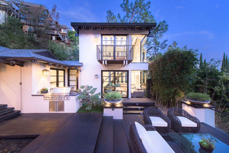 Calvin Harris' House - 9342 Sierra Mar Dr, Los Angeles, CA 90069
