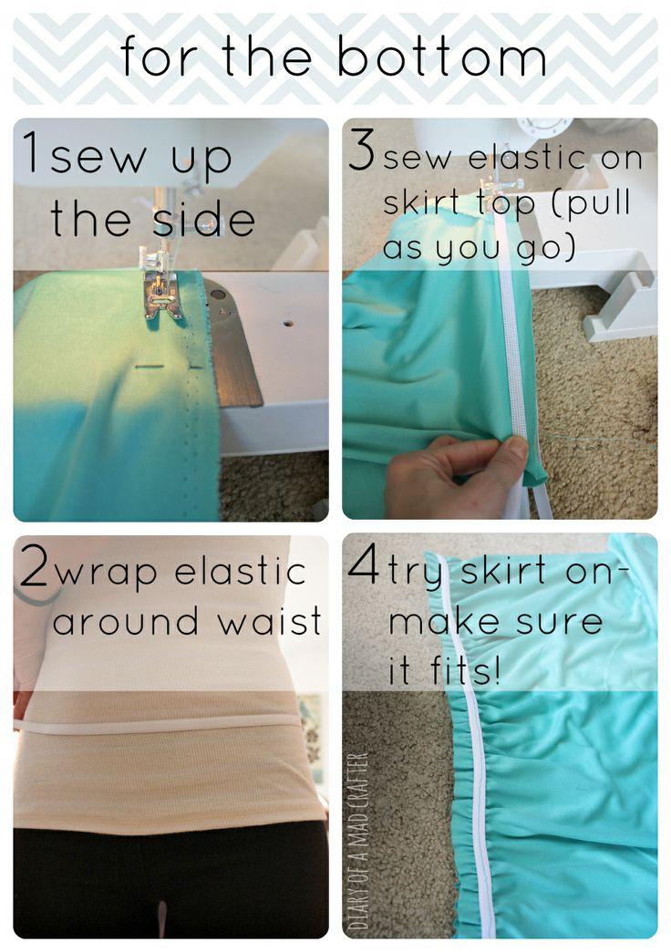 wrap dress instructions tutorial