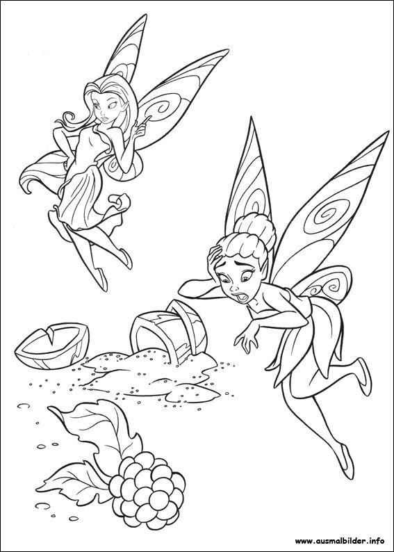 1000+ ide tentang Tinkerbell Ausmalbilder di Pinterest ...
