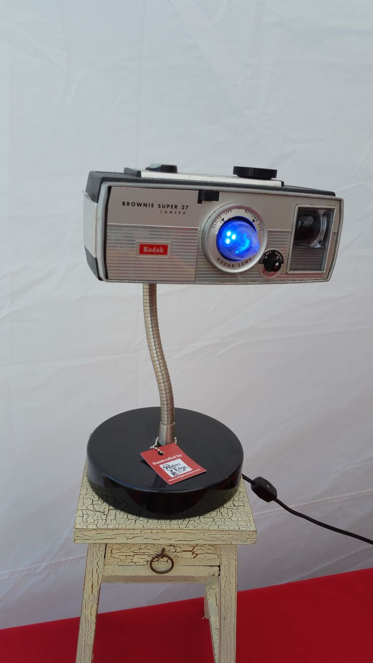 25 best vintage camera lamps and clocks for sale images on for Camera camera camera