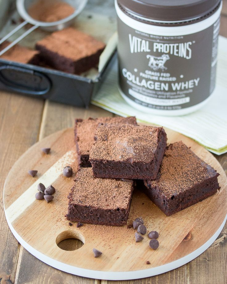 Chewy and packed with extra protein, a bite of these Cocoa Whey Brownies will both satisfy and nourish!