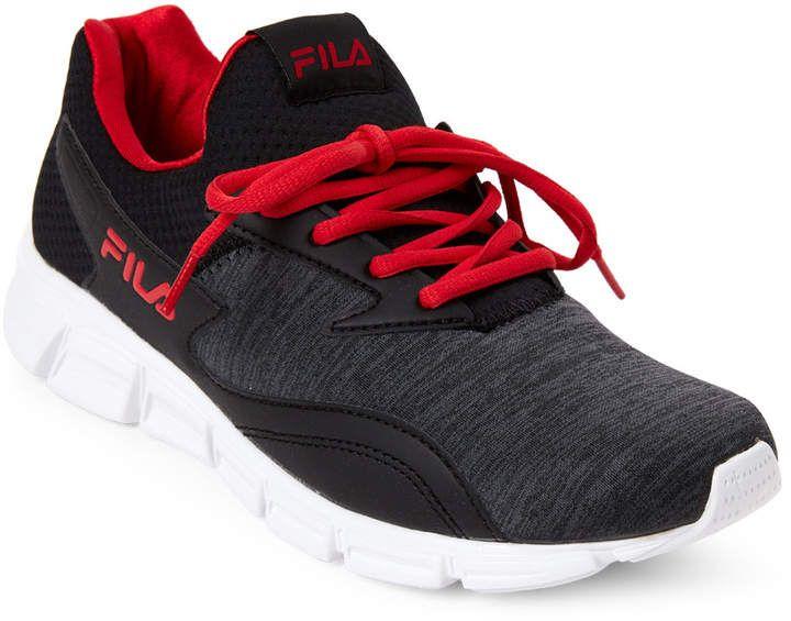 Fila Black Red Fastreactor Running Sneakers Running Sneakers Black And Red Sneakers