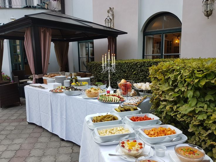 Today we are planning a BBQ party for our hotel quests.