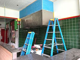 Kick off 2017 with Just Falafs! Our café fit-out project in Fitzroy North is taking shape. Works are well under way and we should be expecting to have some del