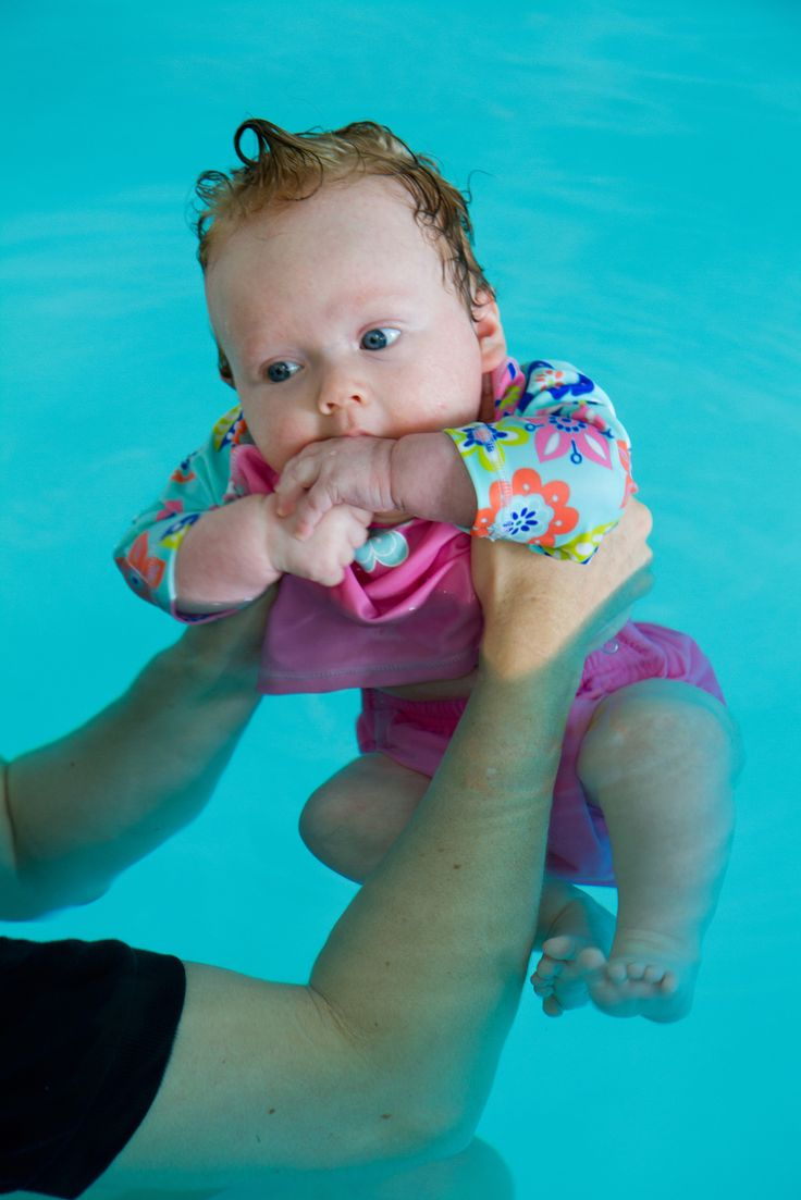 My first swim - humm what's this big bath i'm in?