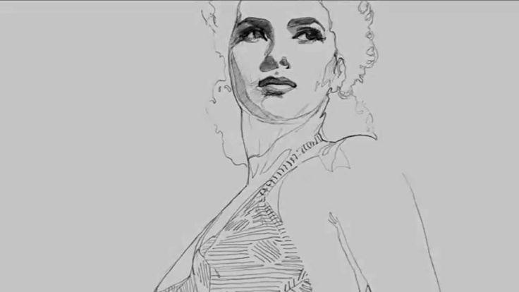 """Le icone del cinema italiano #art #project  """"Esiste un confine fragile tra la diva e l'essere donna, lacerato dal dubbio, sospinto dall'arte, in quella linea sottile il segmento di luce ha ragione sul buio e ci restituisce un'icona."""" Patrizia Marrocco"""