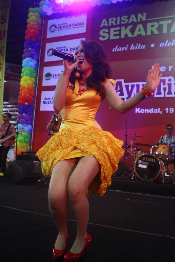 Ayu Ting Ting, The most famous Dangdut Music Singer in Indonesia,2013