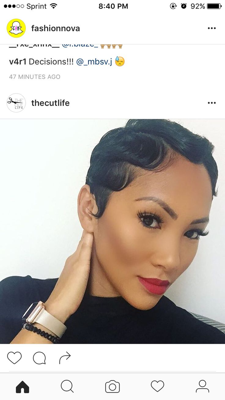 Uncategorized short gray african american hairstyles 4 tight curls short hairstyle 2013 - Beautiful Pixie Natural Hair Style By