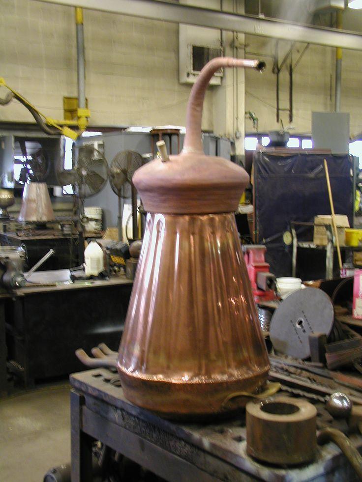 10 gallon copper pot still