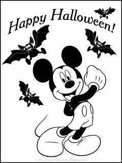 72 best Disney Halloween Coloring Page images on Pinterest