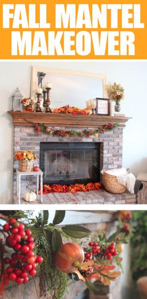 Oooh, this makes me so excited for Fall! Time to dig out the decorations.
