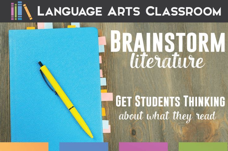 Ready to Brainstorm? Brainstorming ideas to get to the root of literature analysis.