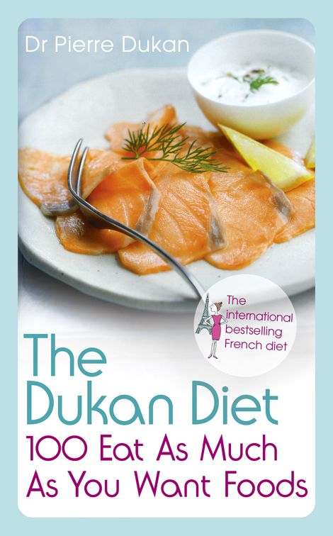 After extensive research, Dr. Pierre Dukan has identified 100 ingredients to be eaten as much as you want in your Dukan Diet meal plan. They are low in lipids (fat) and carbohydrates (sugar), and high in protein and other nutritional elements essential to the body's well-being.