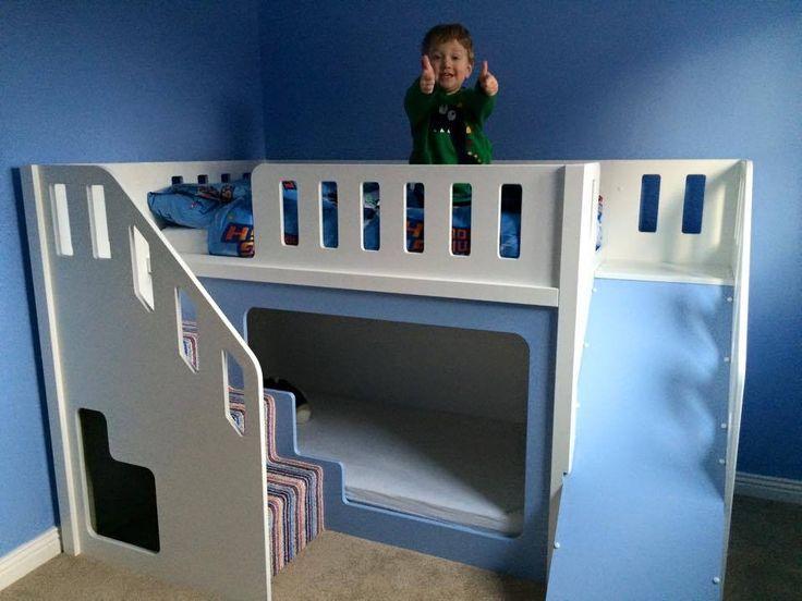 Kids Beds With Slides Cabin Beds For Kids Kids Bed With Slide