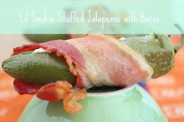 Lil Smokie Stuffed Jalapenos with Bacon - Blog By DonnaBlog By Donna