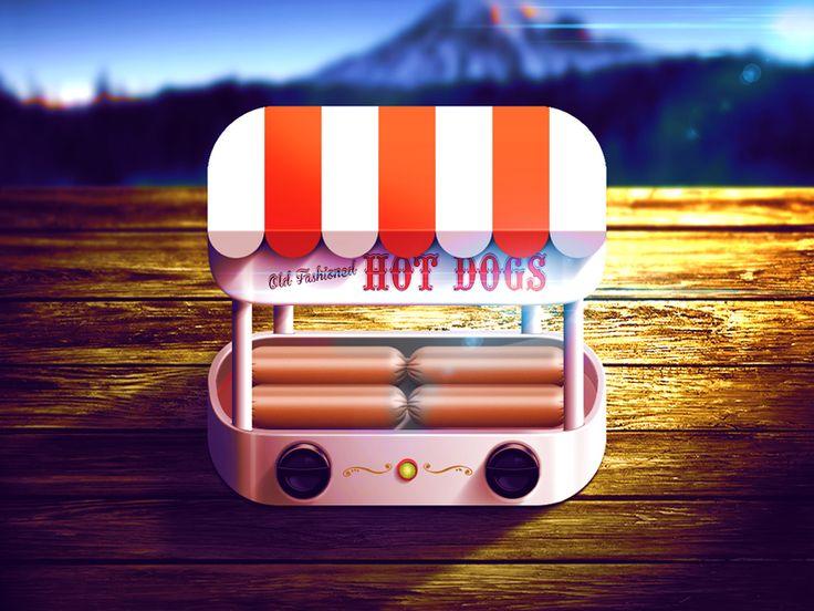 @ioscandy : #classic #hotdogStand #appDesign #appIcon  #retro #iOS #ProductDesign #icon #appIcon #mobile #ux #design #appDesign http://t.co/dQ9wpwZlSM