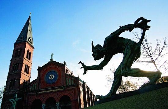 The Troll That Smells Christian Blood, Niels Hansen Jacobsen
