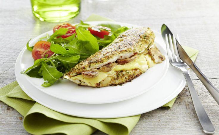"""""""Pollo Relleno De Champiñones Y Queso Emmental"""" en Nestlé Cocina #recetas #nestlecocina #menuplanner #cocina"""