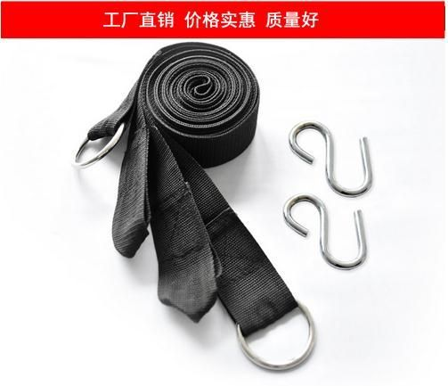 TOP Quality 100% Pure nylon Rope Strong Hammock Hanging Belt Hammock Strap Rope With Metal Buckle Load 200kg TB For Hot Sale - http://furniturefromchina.net/?product=top-quality-100-pure-nylon-rope-strong-hammock-hanging-belt-hammock-strap-rope-with-metal-buckle-load-200kg-tb-for-hot-sale