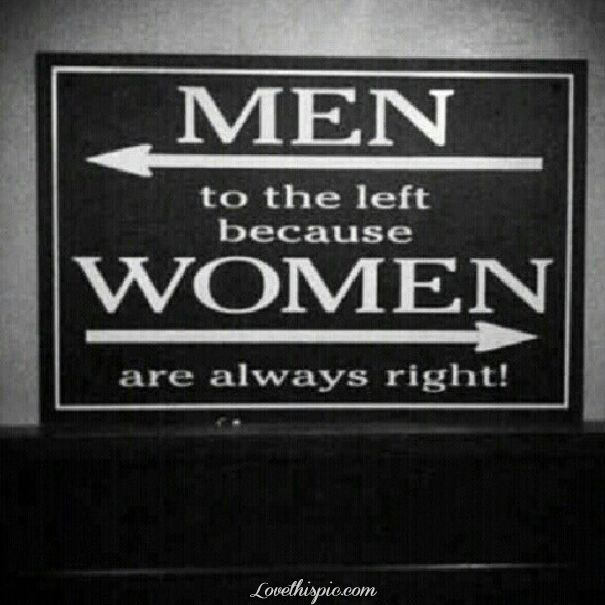 Men Left Woman Right funny humor funny quote funny quotes lol
