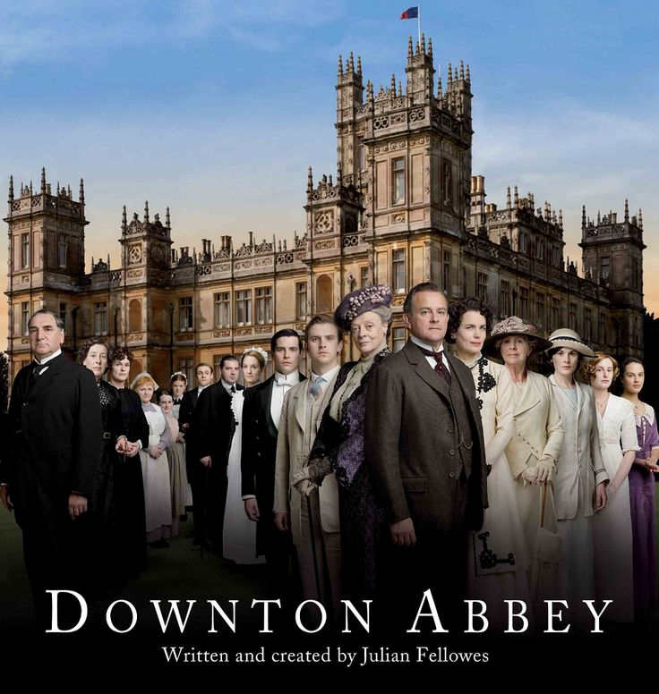 Downton Abbey-my newest guilty pleasure! Have downloaded the entire first season from iTunes!