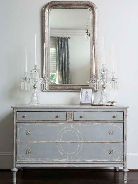 ikea songe mirror...who knew? LOVE the dresser!