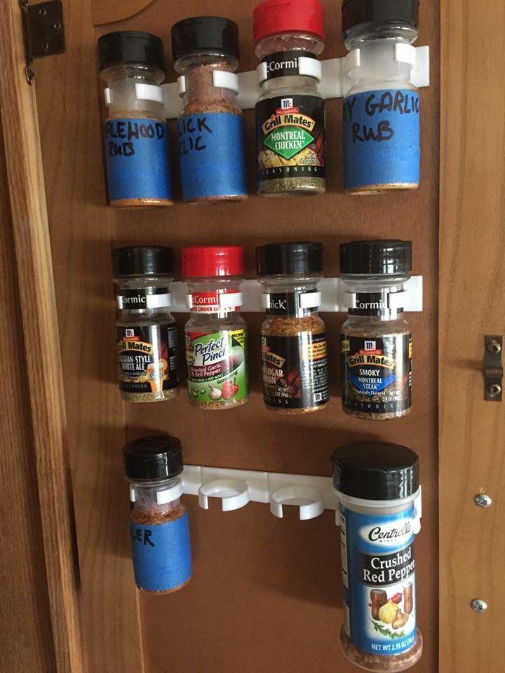 Spice Storage Ideas to Help You Organize Your RV Kitchen ...