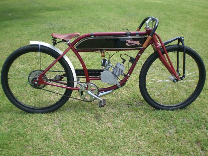 Board Track Frame Builders Motorized Bicycle Engine