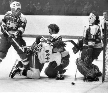 Ottawa Nationals goaltending history : Gilles Gratton
