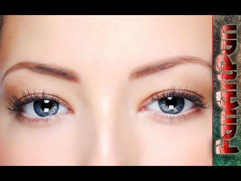 УРОКИ ФОТОШОПА. Обработка глаз в фотошопе: удивительный взгляд. Красивые глаза в фотошопе. - YouTube