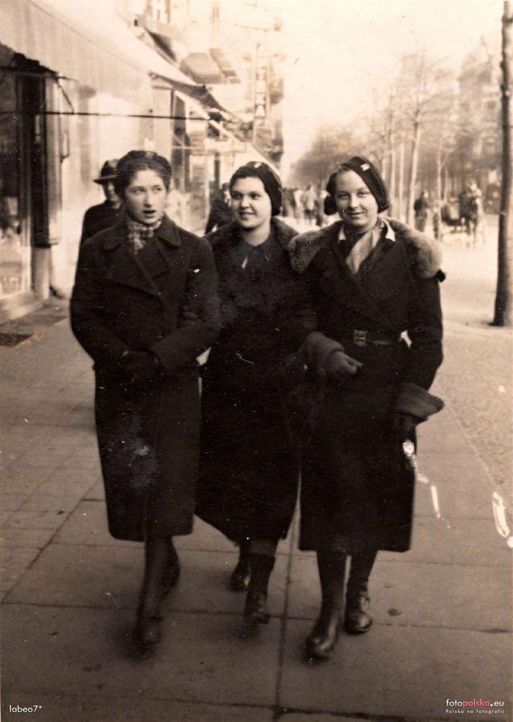 ul. Gdańska (Danzigerstrasse, Adolf Hitler Strasse, Aleje 1 Maja), Bydgoszcz - 1938 rok, stare zdjęcia