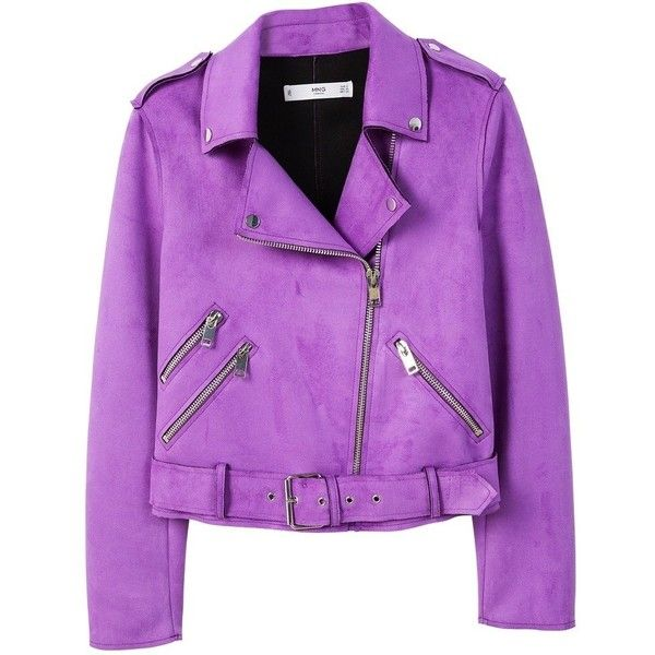 Mango SEUL Veste en similicuir ($74) ❤ liked on Polyvore featuring outerwear, vests, vest waistcoat, purple waistcoat and purple vest